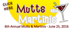 6th Annual Mutts and Martinis
