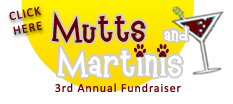 3rd Annual Mutts & Martini's